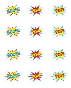 Simply Designing: Superhero Party {FREE} Printables