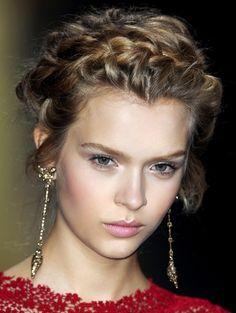 Love this braid and love Valentino!<3