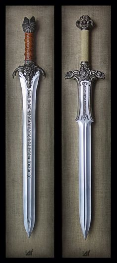 Conan The Barbarian Swords