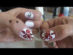 Unha de Natal 2 - Nail Art Christmas