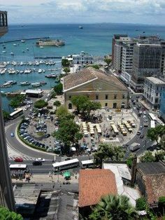 Salvador, Bahia in the Southeast region of Brazil, was founded in 1549 as São Salvador.