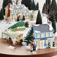 snow village the griswold holiday house department 56 villages free shipping on dept