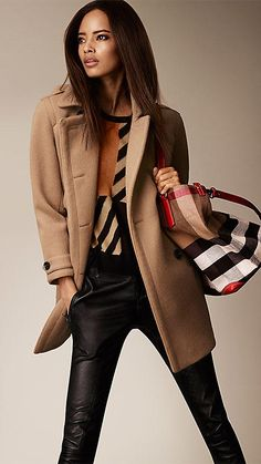 Wool Cashmere Cocoon Coat | Burberry