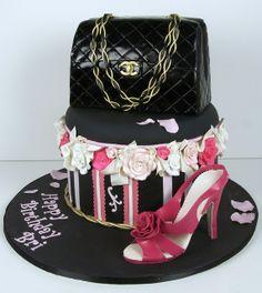 purse shoe cake toronto by www.fortheloveofc..., via Flickr