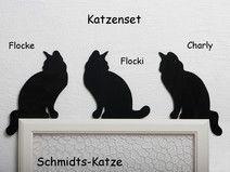 Kantenhocker Katzenset für den Türrahmen