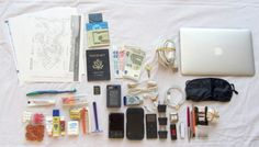 """""""Packing essentials for a ten-day trip overseas (except for clothing)"""""""