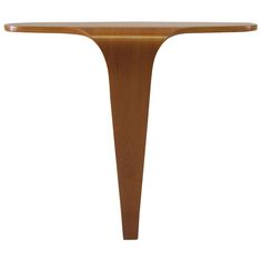 Sculptural Mid-Century Modern Bentwood Console Table | From a unique collection of antique and modern console tables at http://www.1stdibs.com/furniture/tables/console-tables/