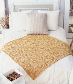 Sunny Spread Free Crochet Pattern from Red Heart Yarns