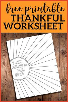 art therapy activities for kids free printables I Am Thankful for Worksheet Free Printable - Paper Trail Design I Am Thankful for Worksheet Free Printable. I am grateful page printable for kids or adults. Great Thanksgiving or Christmas holiday activity. Activities For Adults, Art Therapy Activities, Class Activities, Therapy Ideas, Mental Training, Paper Trail, Social Emotional Learning, Activity Days, School Counseling