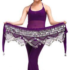 Hot Selling Fashion Cheap Women Tribal Belly Dance Hip Scarves Belly Dancing Waist Belts On Sale Women Dancing Wear #Affiliate