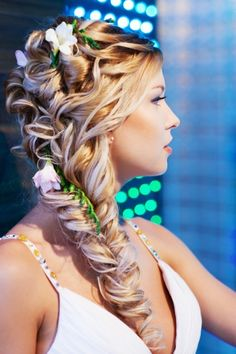 So if I ever get married, this is the hair I want!