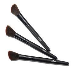 Popfeel Hot Sale Blush Foundation brush  Makeup Brush Soft Flat Hair Wonderful Brushes wooden Handle - Black Blush Brush #Affiliate