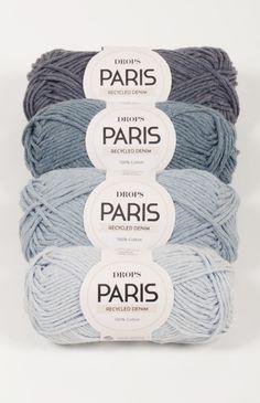 DROPS Paris ~ DROPS Design - 4 new shades of denim