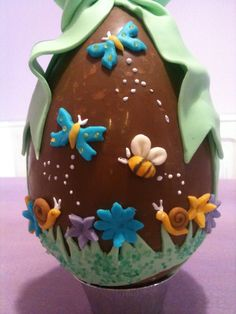 Chocolate Fondant, Easter Chocolate, Chocolate Treats, Sugar Eggs, Easter Cookies, Easter Eggs, Cake Decorating, Cupcakes, Sweets