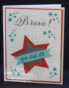 Stampin' Up! Bravo Card