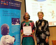 """Premio Harambee a la """"Promocion e Igualdad de la Mujer Africana 2011"""""""