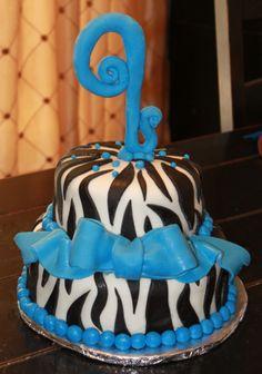 9th birthday cake,