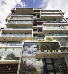 The Secret of this Costa Rica Apartment and Rectangular Architecture - Concrete and wood imbue the building with lightness and strength. These materials also require minimal maintenance and offer maximum durability over time. They also endow the building with a timeless elegance and a modern feel.