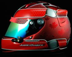 Latest Paint Work — Smart Race Paint -Helmet Painting at it's best-