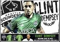 Clint Dempsey the new Seattle Sounder