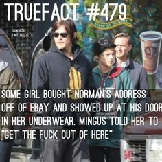 The walking dead fact (i love ming)