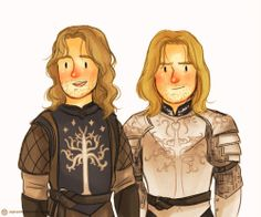 Sons of Gondor SO CUTE!!
