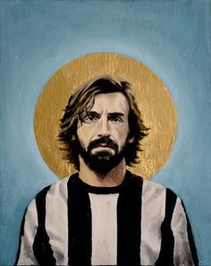 Andrea Pirlo - Football Icon Art Print
