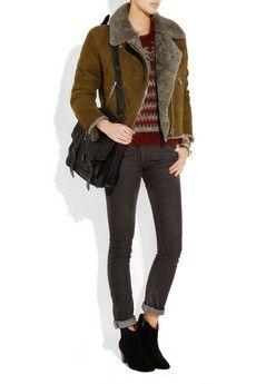 0eda192cafc Acne Studios - Rita shearling jacket