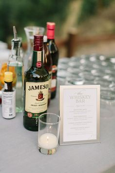 bar Wedding Inspiration - Style Me Pretty