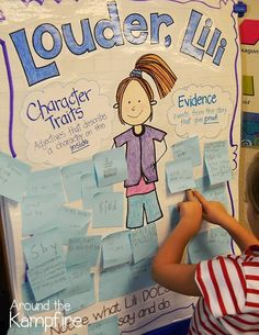 Louder, Lili-A perfect back to school book about classroom community, friendship, and finding your own voice. this post has lots of ideas for working with the book. This is a great book to also use for encourage and support Beginning Of The School Year, New School Year, School Fun, School Ideas, School Stuff, School 2017, Student Teaching, Teaching Reading, Kindergarten Writing