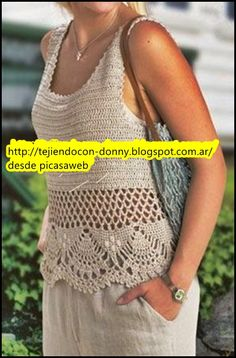 crochet,ganchillo,tejidos de,patrones,esquemas,gráficos,diagramas,regalos,trabajo,compra,venta,ropita bebe, Crochet Fabric, Crochet Cardigan, Knit Crochet, Crochet Tops, Free Crochet, Crochet Border Patterns, Crochet Stitches, Baby Girl Crochet, Crochet Woman