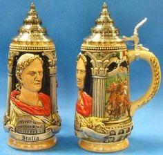 Italy Italia Julius Caesar LE German Beer Stein .5L