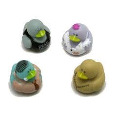 package of 12 ^^ ^ Fun Express Zombie Rubber Ducks  -- Details can be found by clicking on the image.