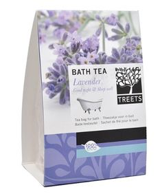 Treets Wellness Badetee, Good Night, 1er Pack (ca. 3 x 70 g) Duft Lavendel