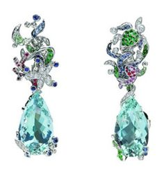 Dior Joaillerie earrings by Victoire de Castellane