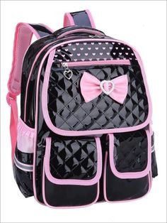 Fanci Geometric Prints Bag Primary School Student Satchel Backpack Travel Bag