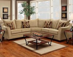 Andrea 2-Pc Sectional Sofa by Chelsea...     $1,239.99
