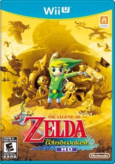 The Legend of Zelda The Wind Waker HD [Wii U Game] #zelda #nintendo