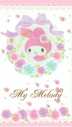 """#10 """"Self-acceptance"""":  (2) """"Show your kids that no matter what color roses were, they all share the same beauty.  If they do not accept themselves, they would never be happy,""""  ('My Melody', as courtesy of Sanrio)"""