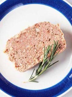 【ELLE a table】豚挽き肉のパテ、ローズマリーの香りレシピ|エル・オンライン