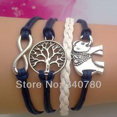 Free-shipping-elephant-bracelets-font-b-uk-b-font-knitted-leather-bracelet-cheap-antique-font-b.jpg (800×800)