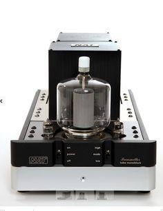 NAT Audio Transmitter 120 Watt Monoblocks, Single Ended Triode, Pure Class A