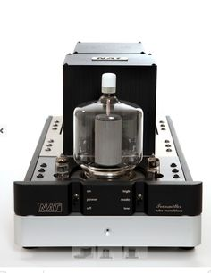 NAT Audio Transmitter 120 Watt Monoblocks, Single Ended Triode, Pure Class A