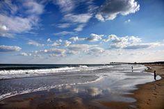 ocean city nj beach | Ocean City Nj Beach Photograph by John Loreaux - Ocean City Nj Beach ...