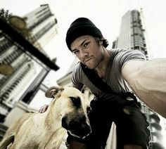 Jared and his puppy :)