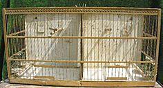RARE Victorian Hendryx Breeder Bird Cage