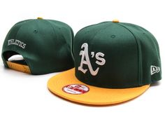 New Era MLB Oakland Athletics Snapback Hats Caps Green 3816|only US$8.90
