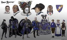 Character Concept, Character Art, Concept Art, Character Design, Character Ideas, Forgotten Realms, Dnd Characters, Fantasy Characters, Dark Fantasy