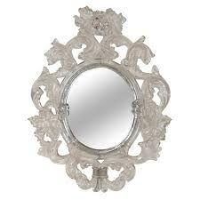 Baroque Frame Mirror Decoupage