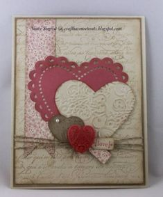 Artisan Valentine Love by nancitay - Cards and Paper Crafts at Splitcoaststampers